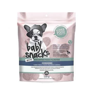Biscoito Baby Snacks Cães Filhotes 120g  - Brasília Pet