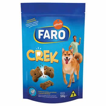 Biscoito Faro Crek 500g  - Brasília Pet