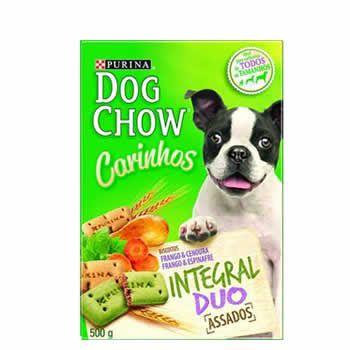 Biscoitos Dog Chow Duo 500G  - Brasília Pet
