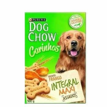 Biscoitos Dog Chow Maxi 500G  - Brasília Pet