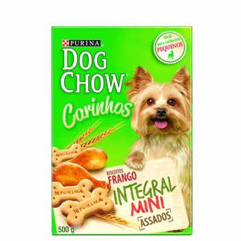Biscoitos Dog Chow Mini 500G  - Brasília Pet