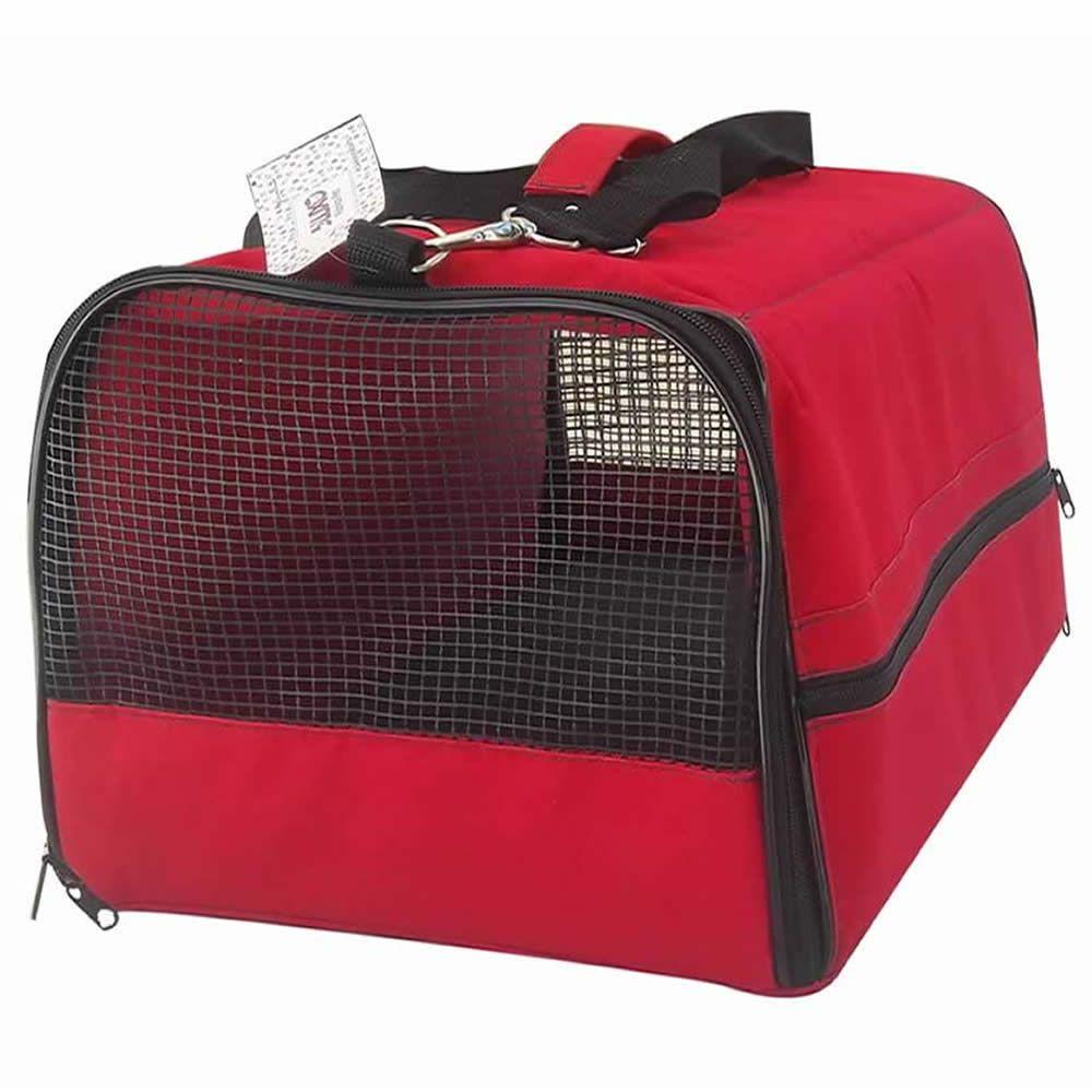 Bolsa Flexível para Transporte Air Canada (A 27 x L 40 x C 55 cm) AC  - Brasília Pet