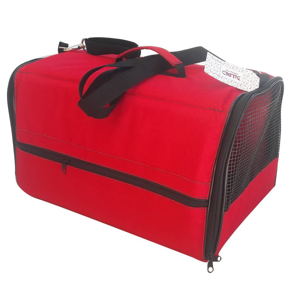 Bolsa Flexível para Transporte (A 24 x L 32 x C 43 cm)  - Brasília Pet