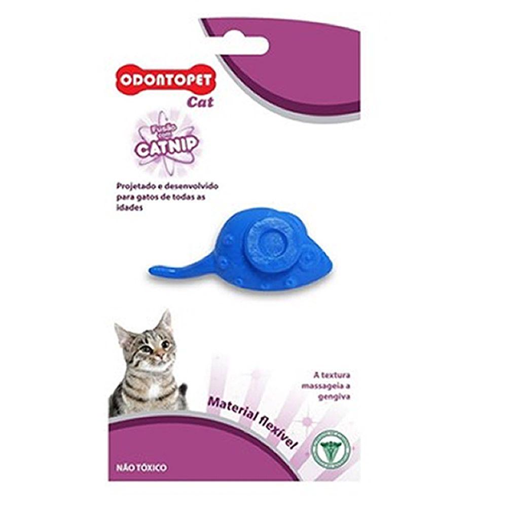 Brinquedo Ratinho com Catnip Odontopet Cat  - Brasília Pet