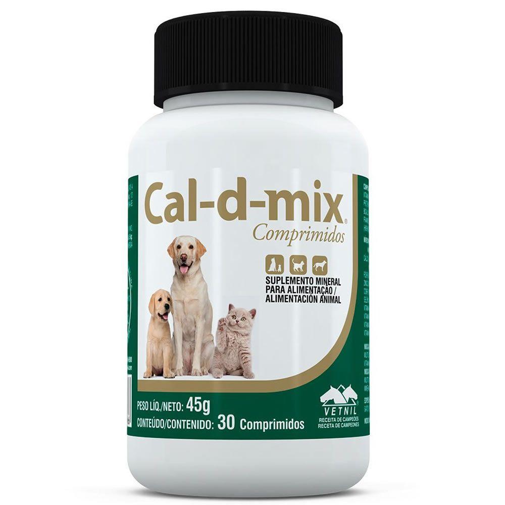 Cal-d-Mix Comprimido  - Brasília Pet
