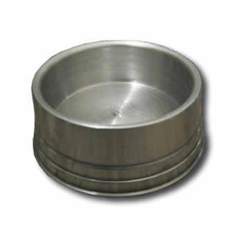 Comedouro Alumínio Pesado  - Brasília Pet