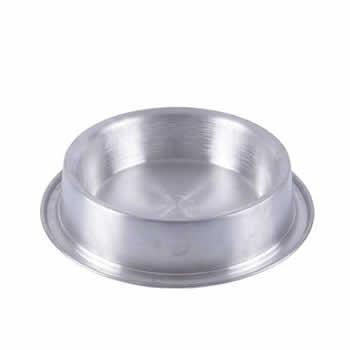 Comedouro Alumínio Pesado Anti Formiga Avi Pet  - Brasília Pet