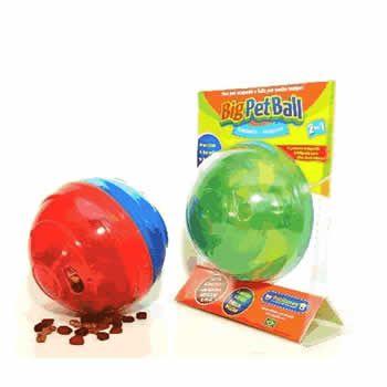 Comedouro e Brinquedo Pet Ball  - Brasília Pet