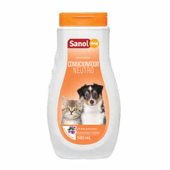 Condicionador Neutro Sanol Dog 500ml  - Brasília Pet