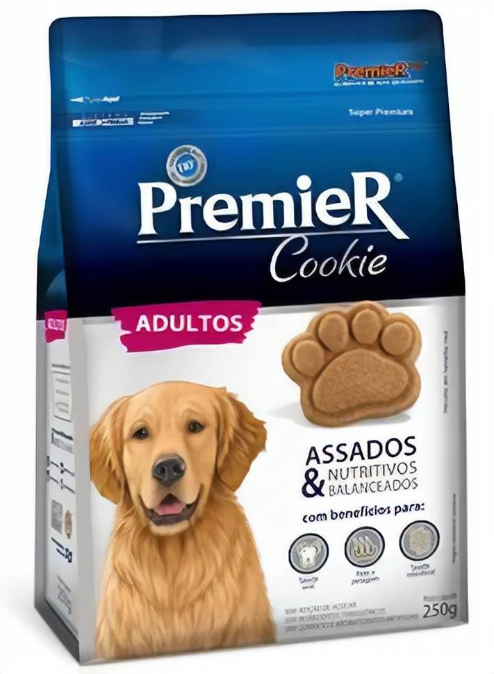 Cookie Premier Adultos 250G  - Brasília Pet