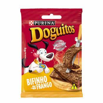 Doguitos Bifinho Frango 65g  - Brasília Pet