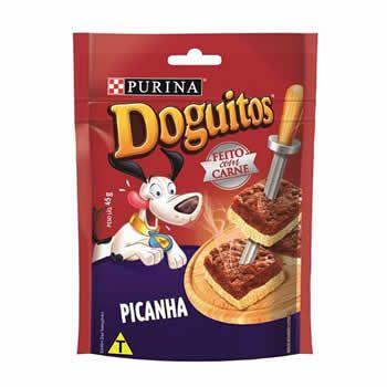 Doguitos Picanha 45g  - Brasília Pet