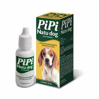 Educador Sanitário Natu Dog PIPI 20ml  - Brasília Pet
