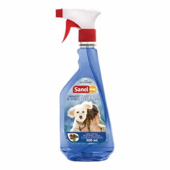 Eliminador de Odores Spray Sanol 500Ml  - Brasília Pet