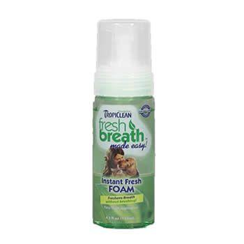 Espuma para Hálito Fresh Mint TropiClean 133ml  - Brasília Pet