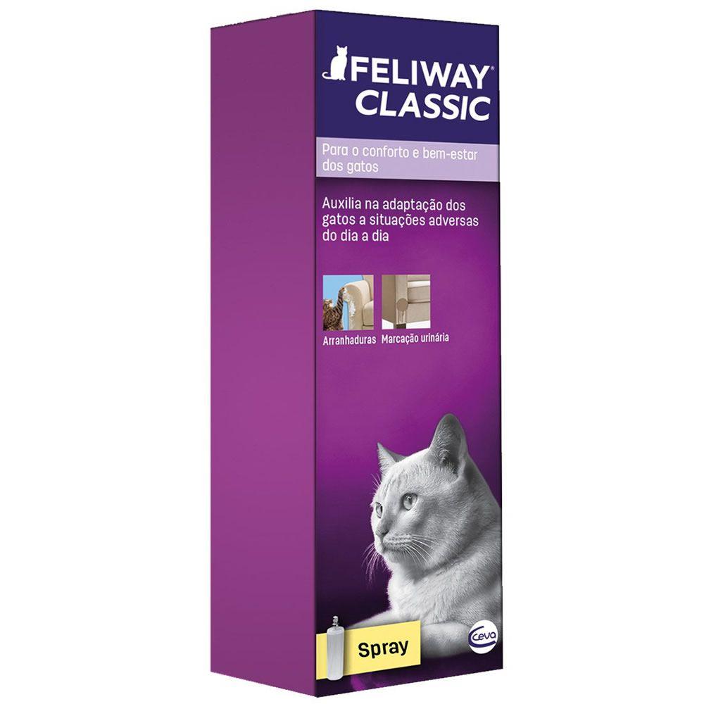 Feliway Spray Ceva 60ml  - Brasília Pet