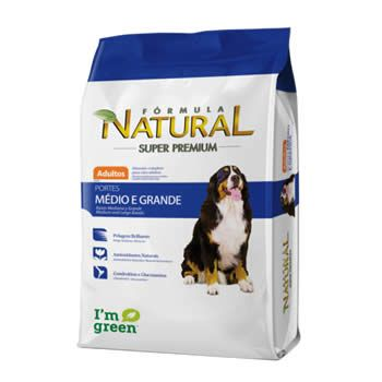Fórmula Natural Cães Adultos Porte Médio e Grande  - Brasília Pet