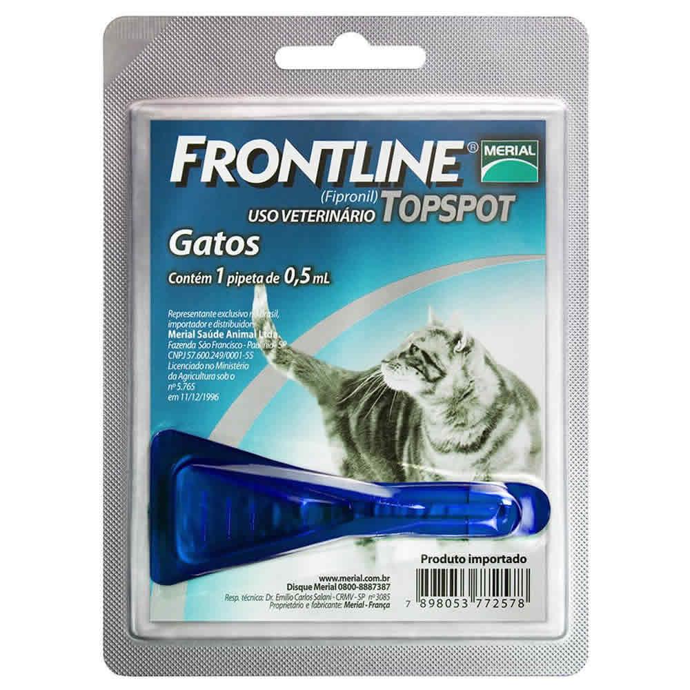 Frontline Gatos Top Spot  - Brasília Pet