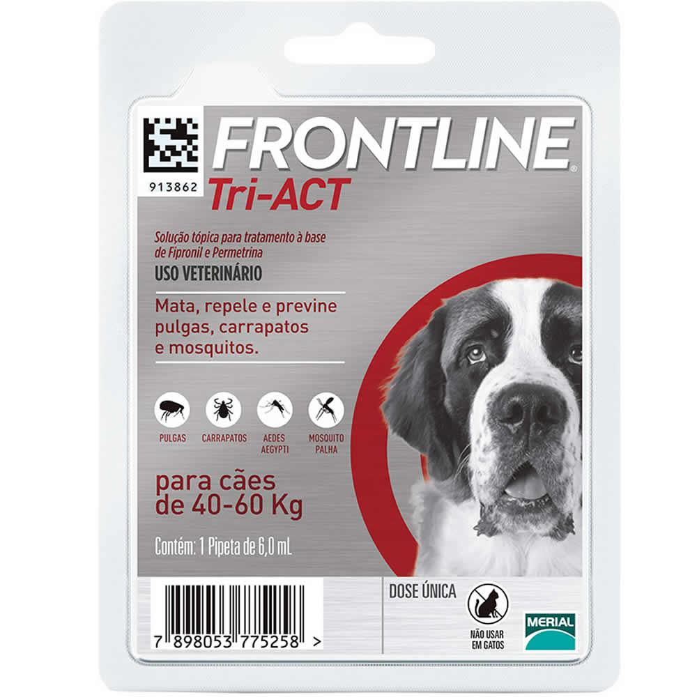 Frontline Tri-ACT 40 a 60kg  - Brasília Pet