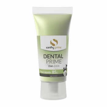 Gel Dental Prime Chá Verde 85g  - Brasília Pet