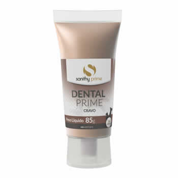 Gel Dental Prime Cravo 85g  - Brasília Pet