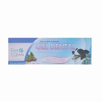 Gel Dental Tutty Frutty Pet Clean 60g  - Brasília Pet