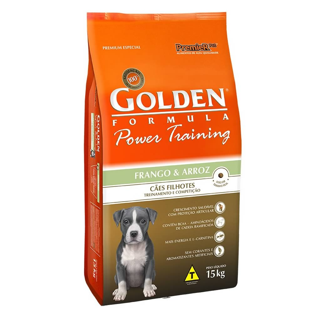 Golden Power Training Filhotes  - Brasília Pet