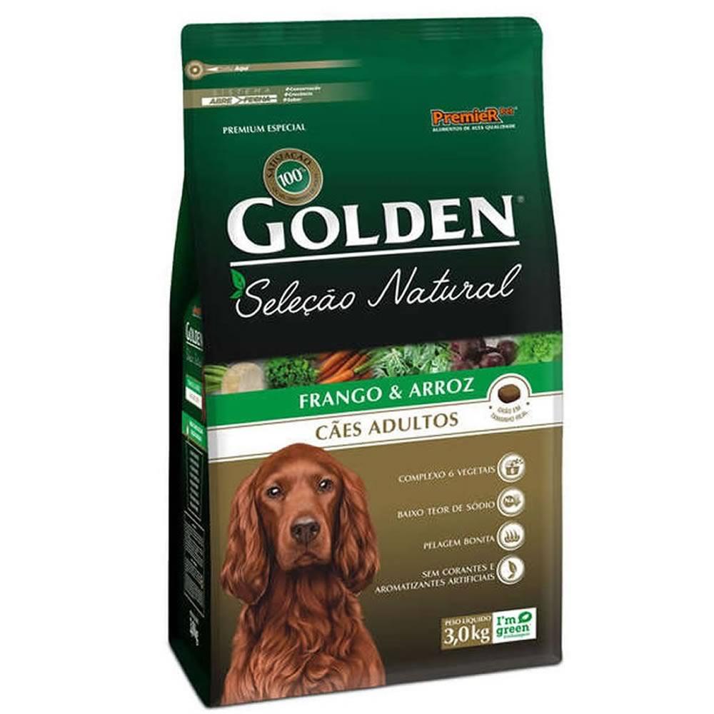 Golden Seleção Natural Adultos  - Brasília Pet