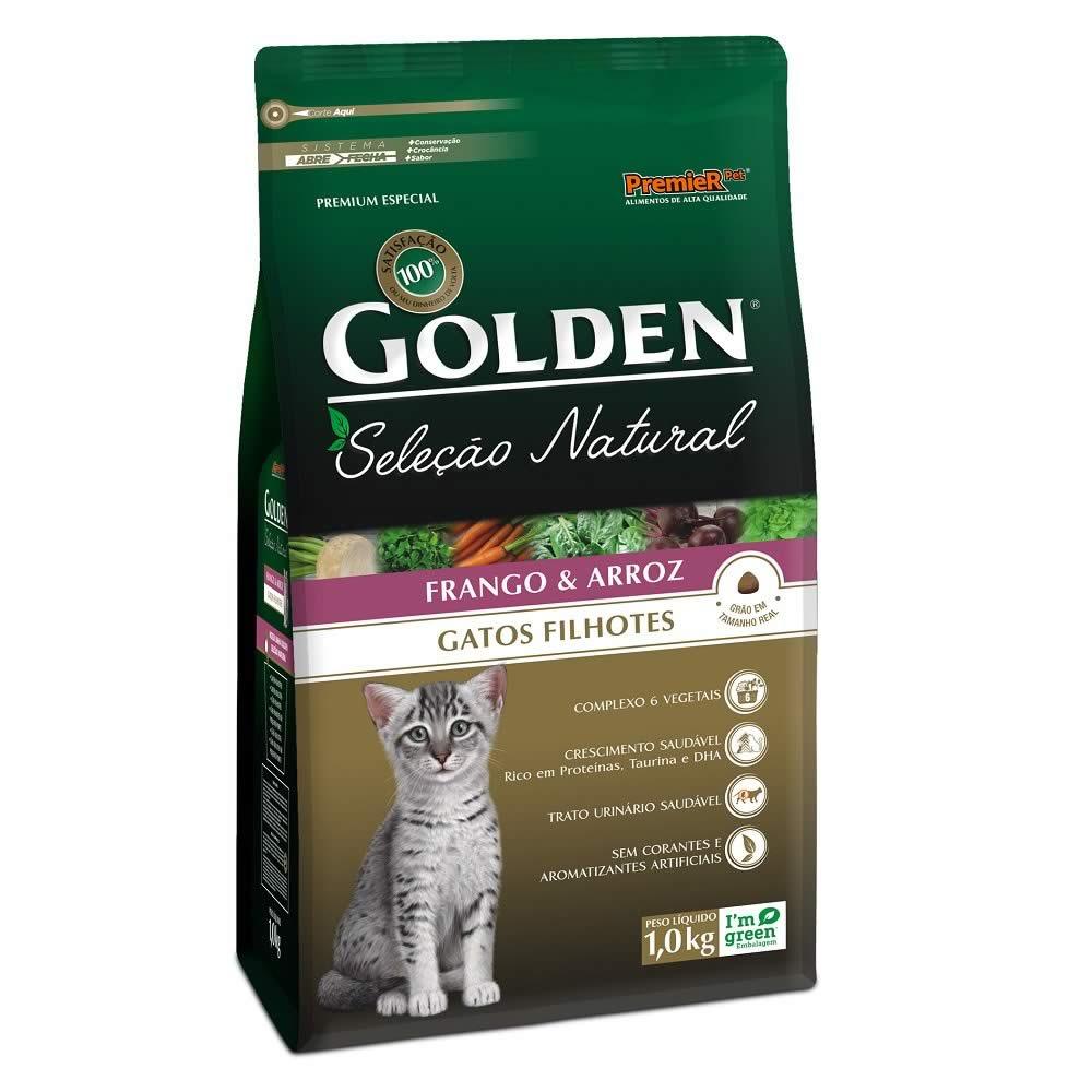 Golden Seleção Natural Gatos Filhotes  - Brasília Pet