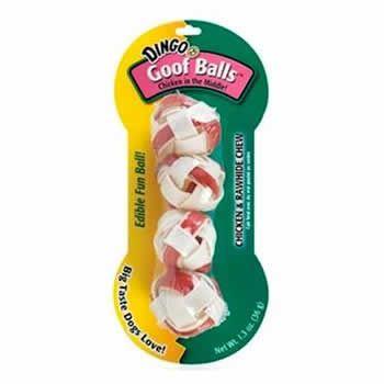 Goof Balls Dingo 4 Unidades  - Brasília Pet