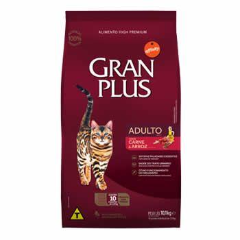 GranPlus Gatos Adultos Carne e Arroz  - Brasília Pet