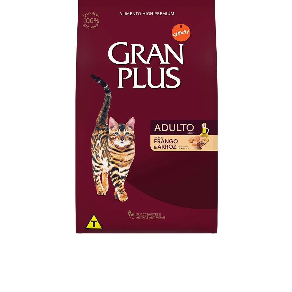 GranPlus Gatos Adultos Frango e Arroz  - Brasília Pet