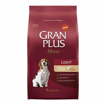 GranPlus Menu Light Adultos  - Brasília Pet