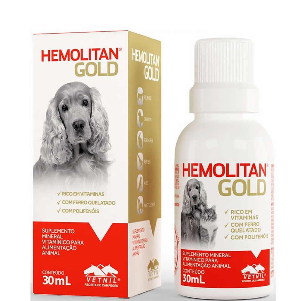Hemolitan Gold Suspensão  - Brasília Pet