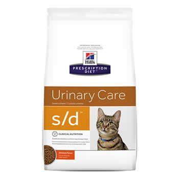 Hills S/D Feline Dissolution Urinary  - Brasília Pet
