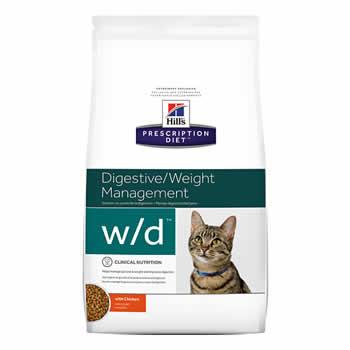 Hills W/D Feline Diabetic Gastrointestinal  - Brasília Pet