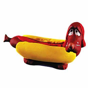 Hot Dog Látex Latoy Pet  - Brasília Pet