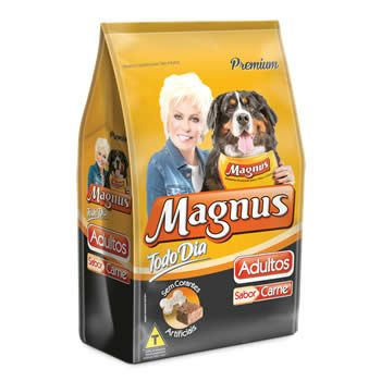 Magnus Todo Dia Adultos Carne  - Brasília Pet