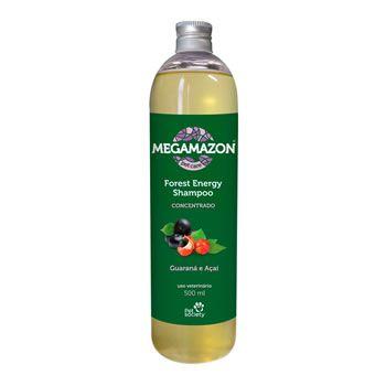 Megamazon Shampoo Forest Energy Guaraná e Açaí   - Brasília Pet