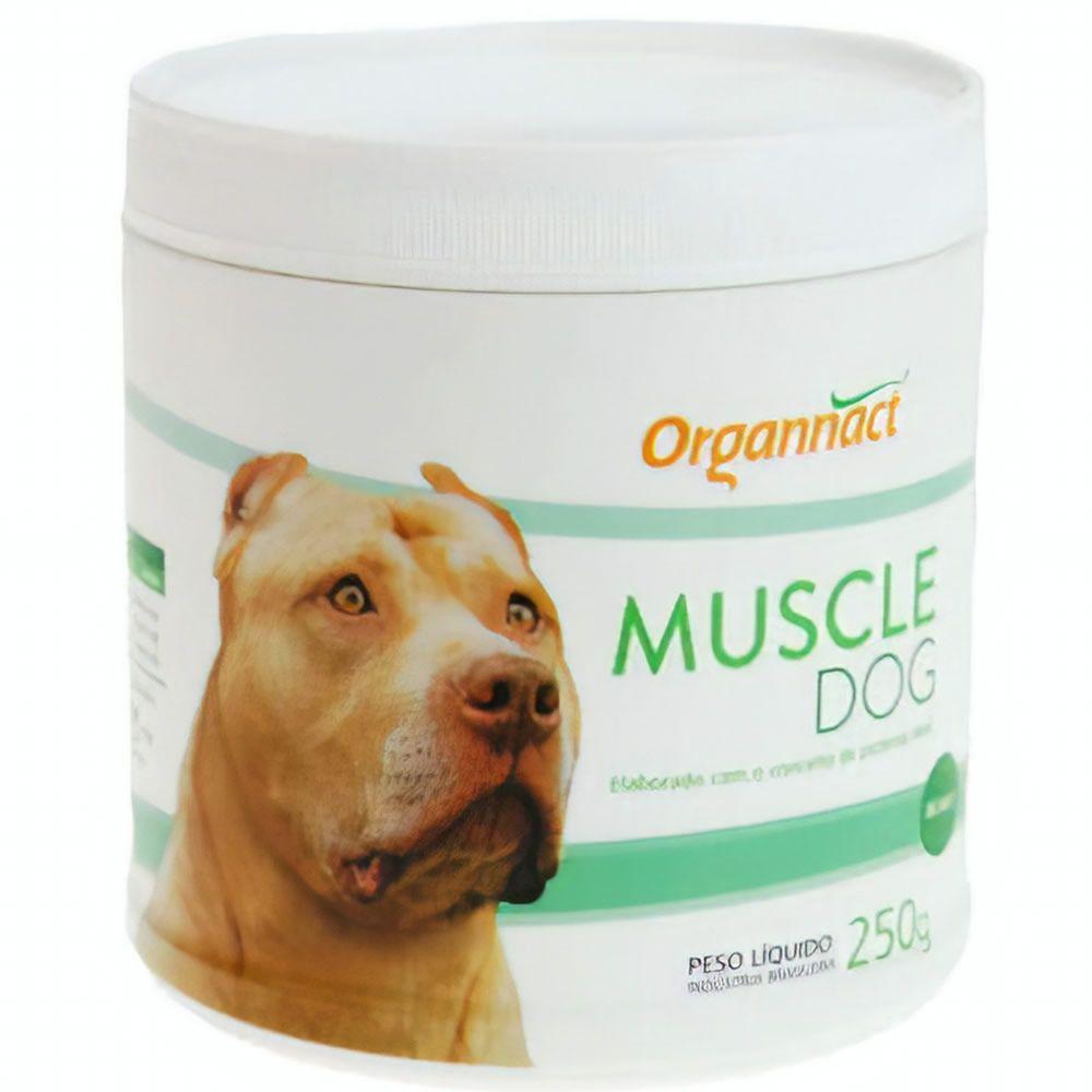Muscle Dog Orgonnact 250g  - Brasília Pet