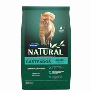 Natural Gatos Castrados Adultos  - Brasília Pet
