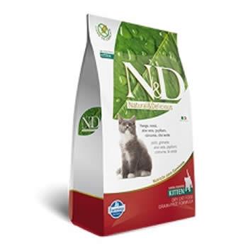 N&D Feline Kitten Frango e Romã Livre de Cereais  - Brasília Pet