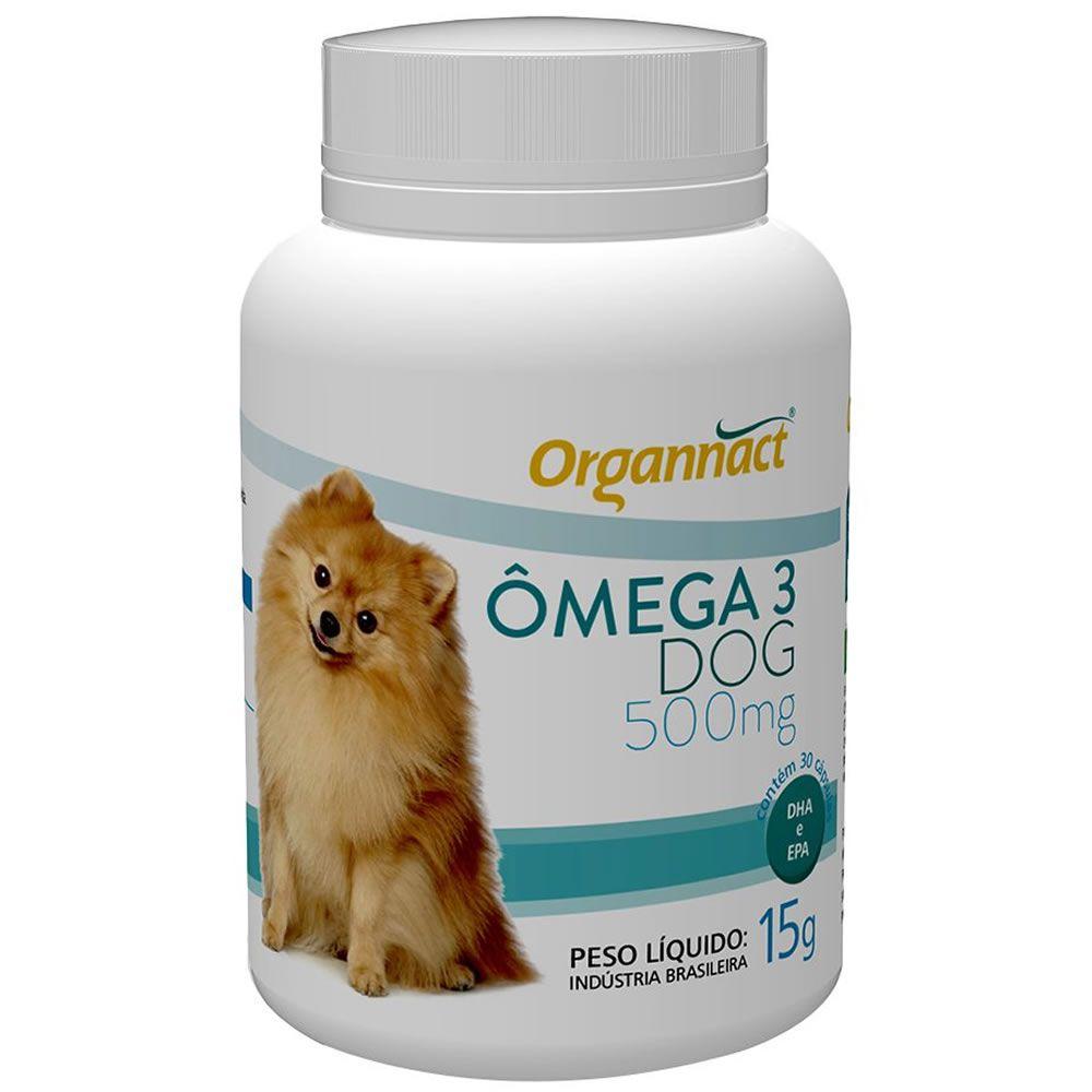 Omega 3 Dog Organnact  - Brasília Pet