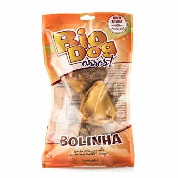 Osso Bovino Bolinha Bio Dog 3un  - Brasília Pet