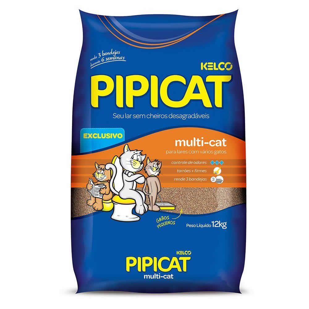Pipicat Multi Cat 12 Kg  - Brasília Pet