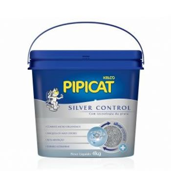 Pipicat Silver Control 4Kg  - Brasília Pet