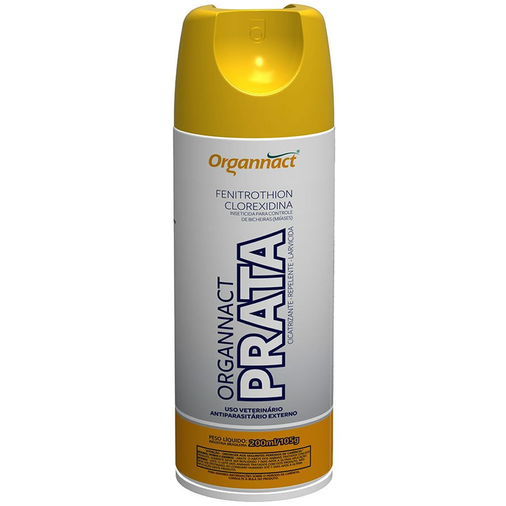 Prata Cura Bicheira Spray 200ml  - Brasília Pet