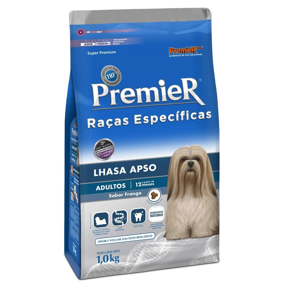 PremieR Lhasa Apso Adultos  - Brasília Pet