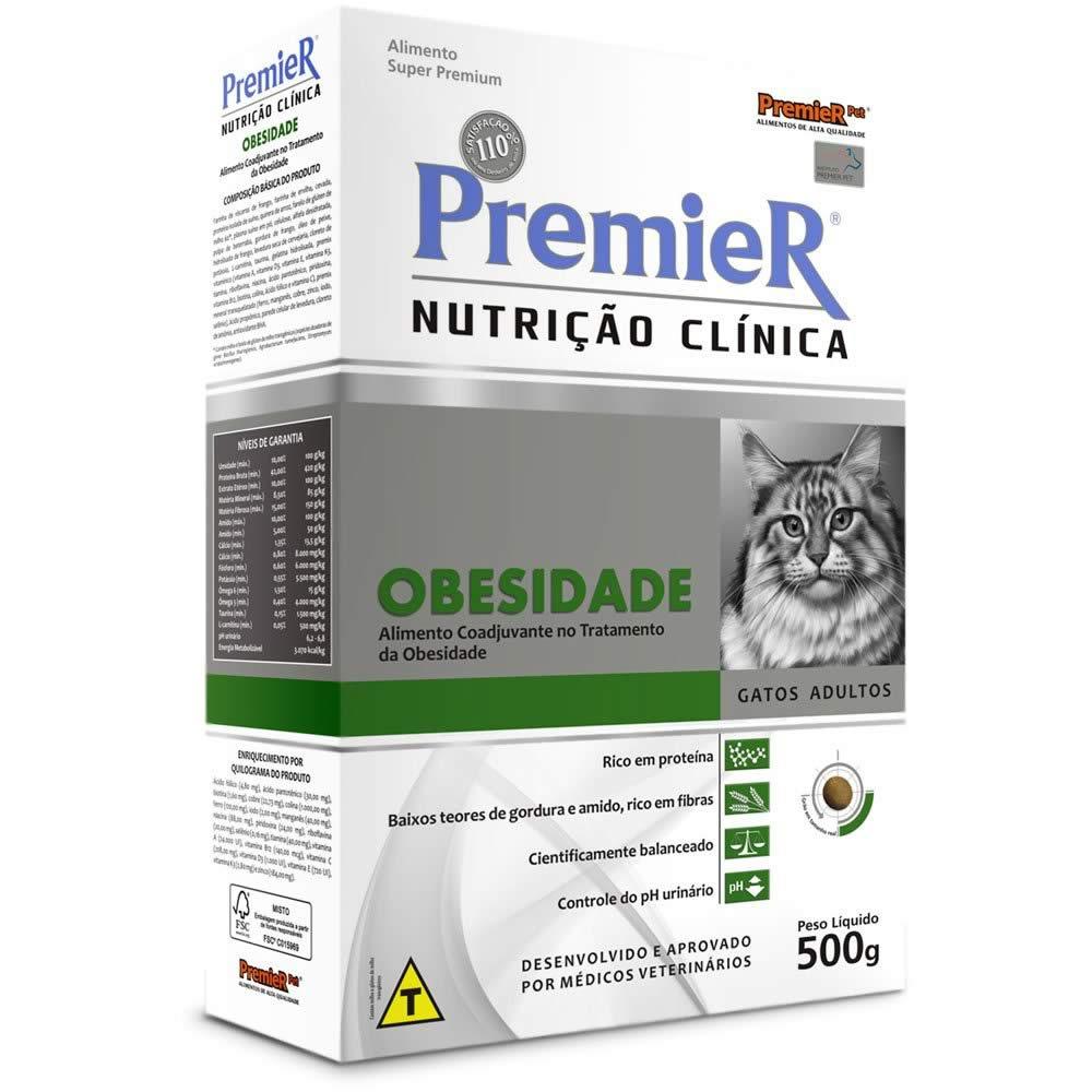 PremieR Nutrição Clínica Gatos Obesidade  - Brasília Pet