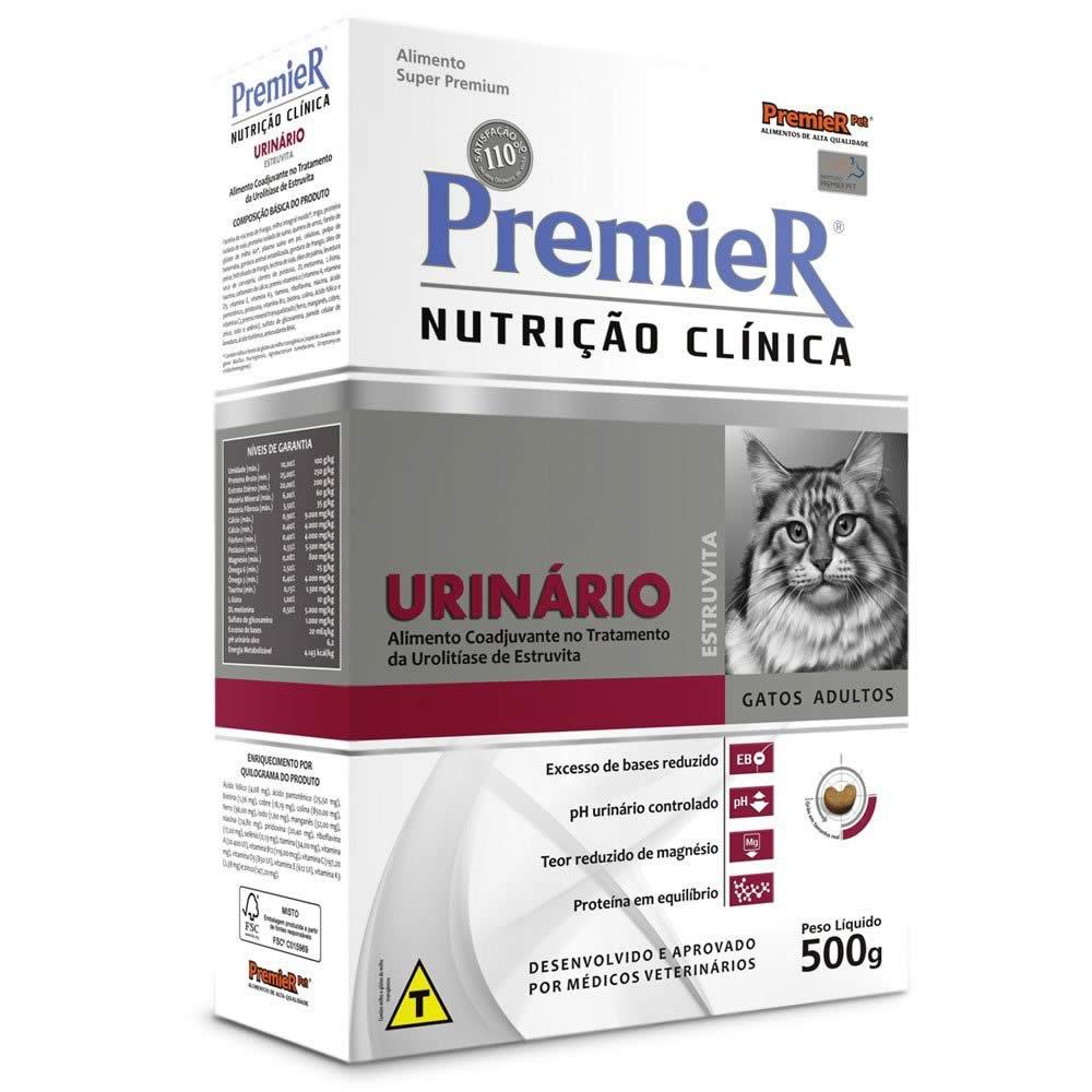 PremieR Nutrição Clínica Gatos Urinário Estruvita  - Brasília Pet